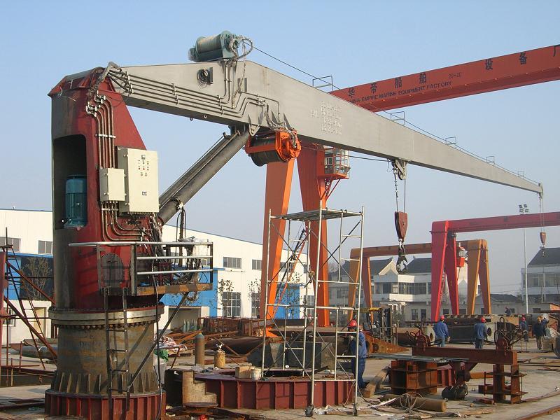 Yacht Hydraulic Crane : Supply marine hydraulic slewing crane hose