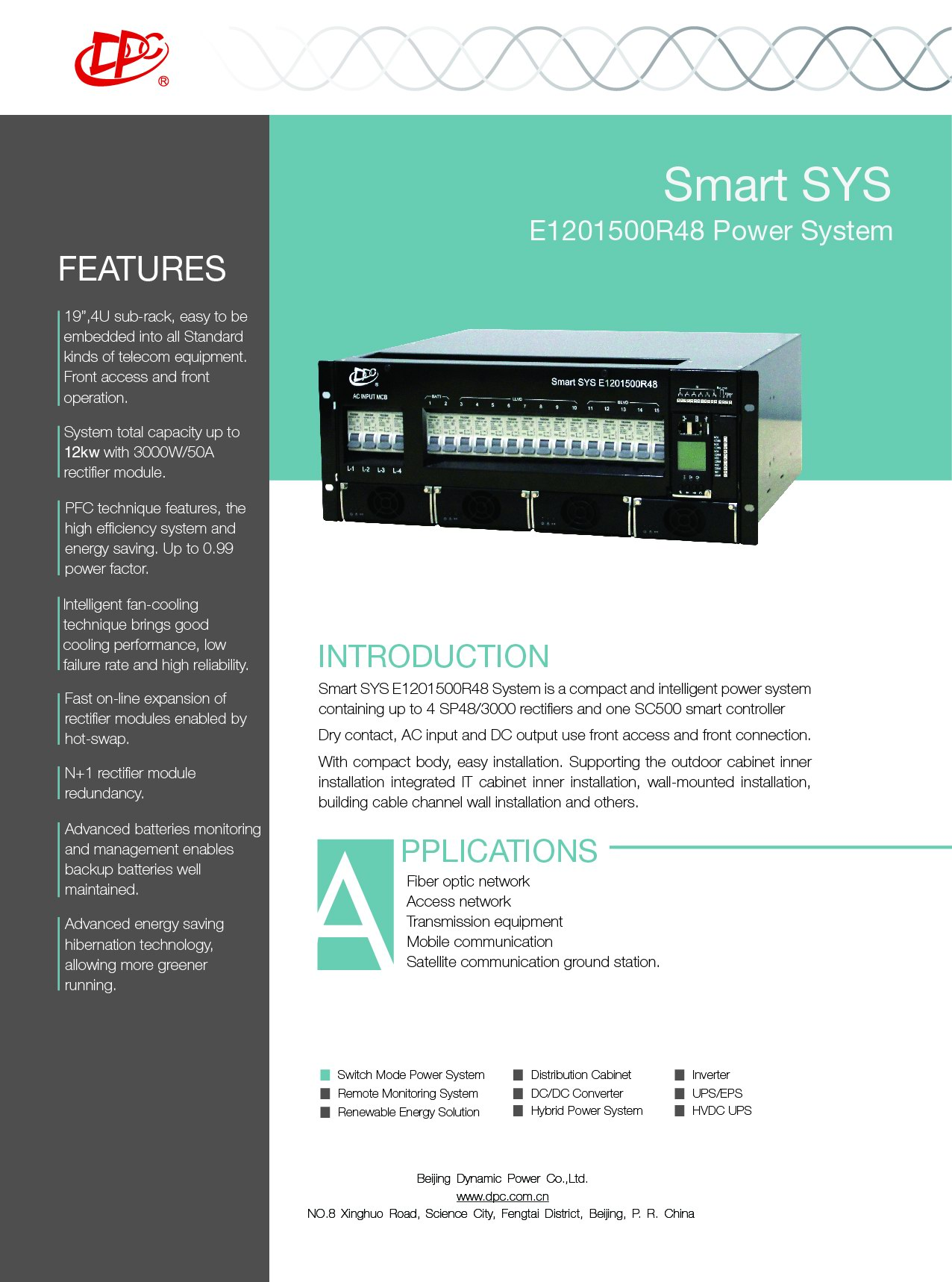 Smart Sys E1201500r48