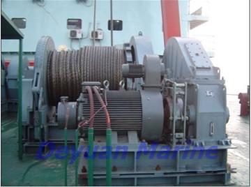 36kn Hydraulic Anchor Windlass And Mooring Winch