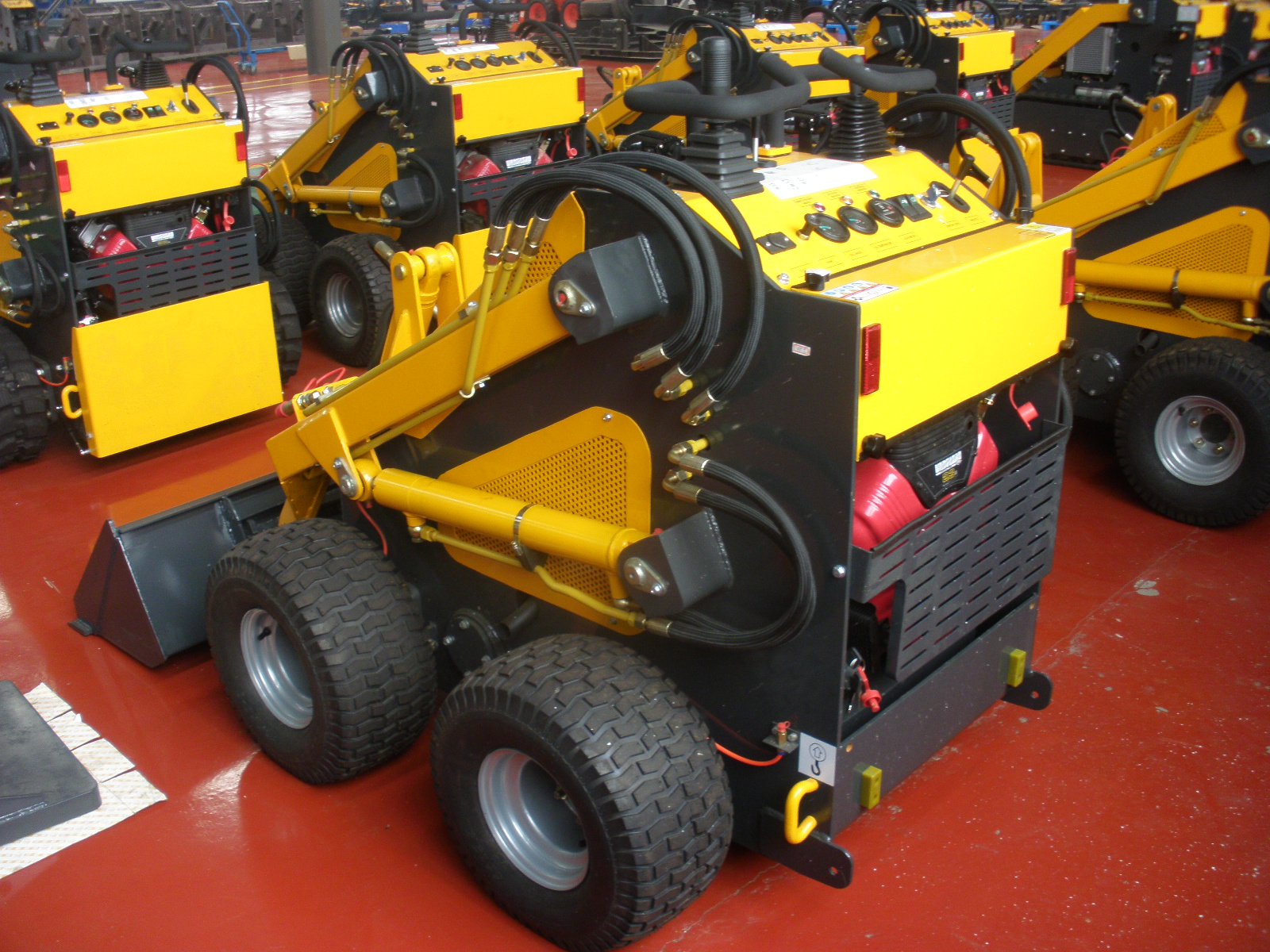 Mini Skid Steer : Hysoon mini skid steer loader hy